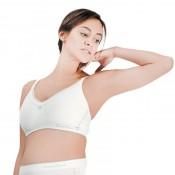 凱莎爾哺乳內衣夢幻款白色正面示意圖