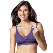 Bravado哺乳內衣繽紛紫色點點