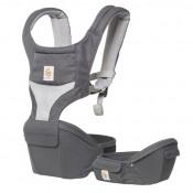 Ergobaby坐墊式透氣款揹帶灰色