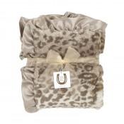 Max Daniel寶寶毯動物紋銀色美洲豹