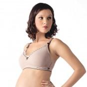 凱莎爾哺乳內衣夢幻款裸色
