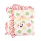 Max Daniel寶寶毯粉紅彩色點點