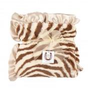 Max Daniel寶寶毯動物紋棕色斑馬