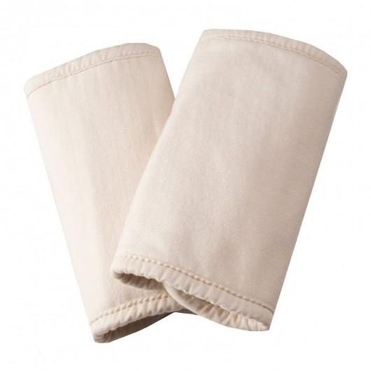Ergobaby有機口水巾有機白