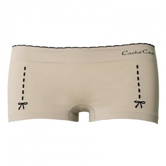 凱莎爾夢幻款平口褲裸色產品圖