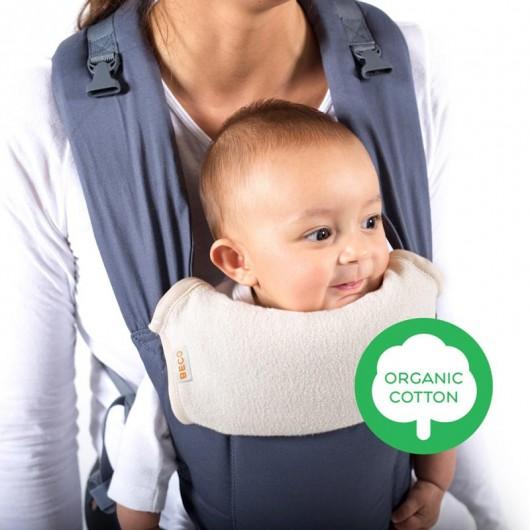 BECO前背式有機口水巾寶寶面朝外