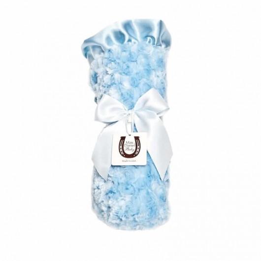 Max Daniel寶寶毯花蕾天空藍