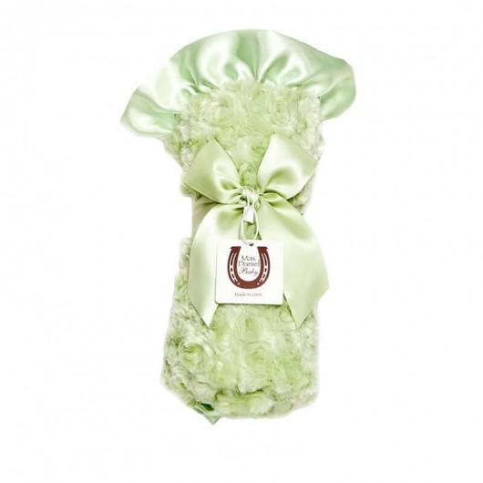 Max Daniel寶寶毯花蕾粉嫩綠
