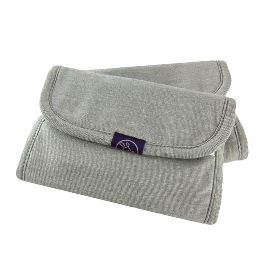 IBQ有機口水巾竹炭紗