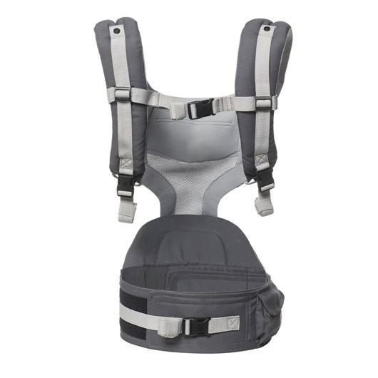 Ergobaby坐墊式透氣款揹帶灰色內裡