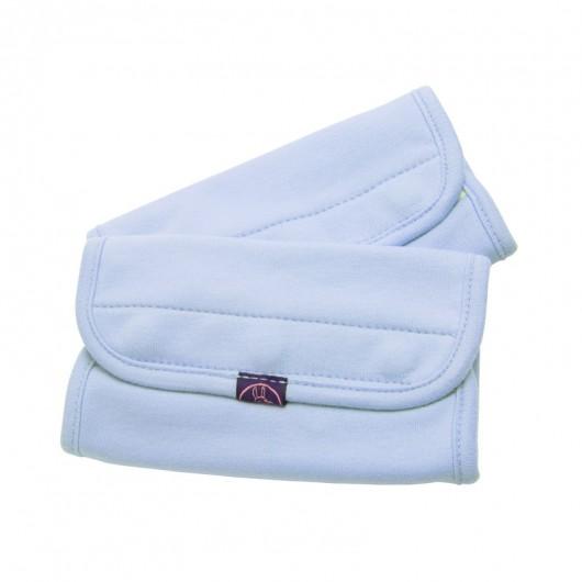 IBQ有機口水巾藍色