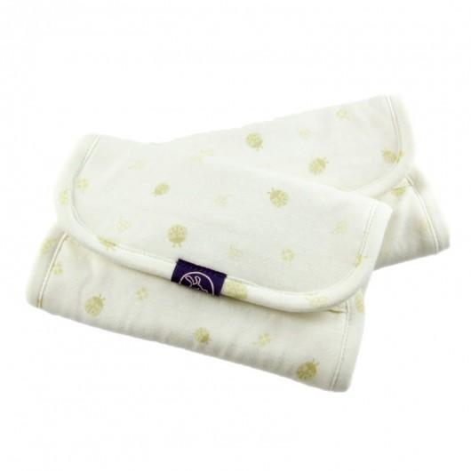 IBQ有機口水巾綠瓢蟲