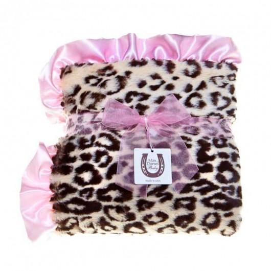 Max Daniel寶寶毯動物紋粉邊美洲豹