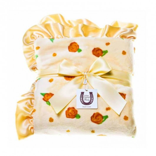 Max Daniel寶寶毯檸檬玫瑰