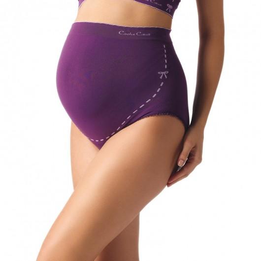凱莎爾夢幻款孕婦內褲紫色