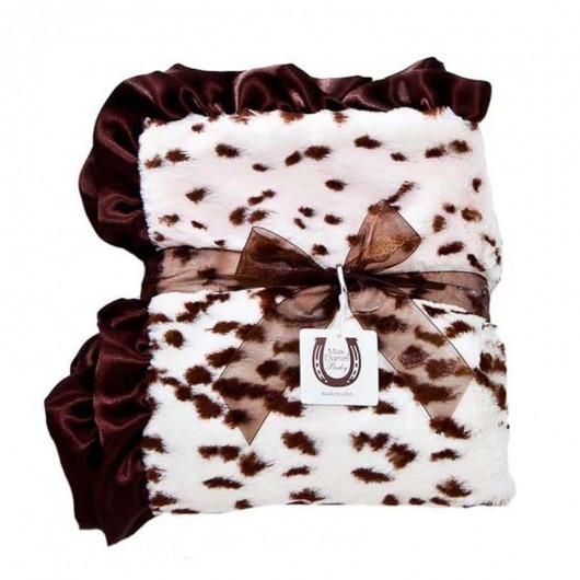 Max Daniel寶寶毯動物紋粉紅雪豹